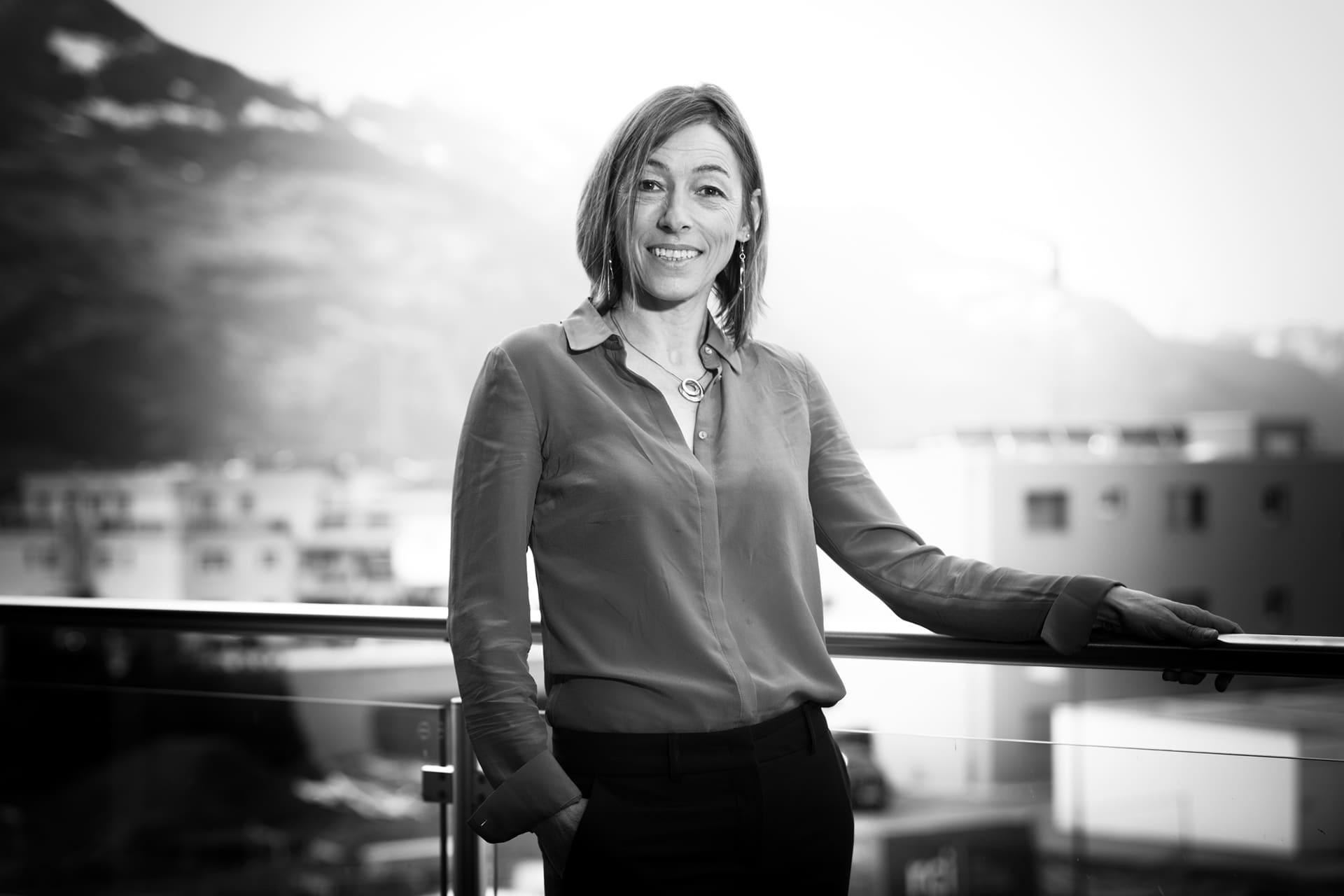 Portrait de Yasmine Gautschi-Shoeni - YAG-IMMO expertises Sàrl